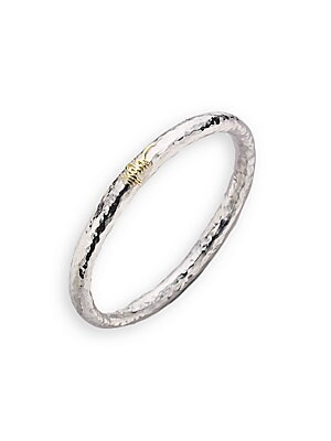 Click here for Sterling Silver & 18K Yellow Gold Bracelet prices