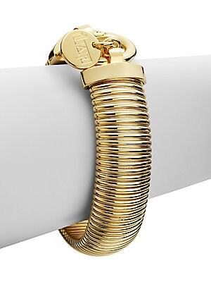 Ribbed Snake Bracelet