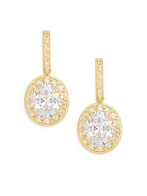 Quintessential 14K Yellow Gold Vermeil Drop Earrings