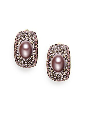 Captivating Cabochon Clip-On Earrings