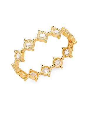 Crown 14K Gold Plated Bracelet