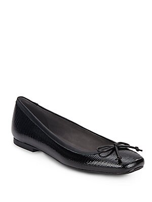 Shoestring Patent Leather Ballet Flats