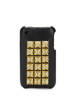 The Montana Studded Leather Case for iPhone 4