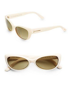 Sebastian Oval Acetate Sunglasses