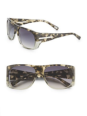 marc jacobs female 57mm square sunglasses
