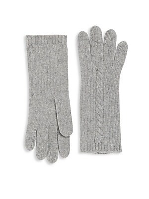 Textured Cashmere Gloves