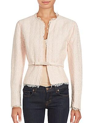 Belted Long Sleeve Jacket