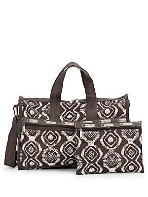 Medium Printed Weekender Bag