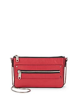 Riley Leather Mini Crossbody Bag