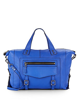 Mason Leather Satchel