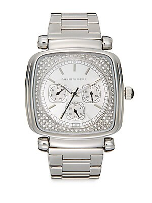Square Stainless Steel Bracelet Watch