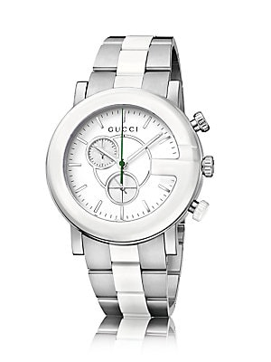 d8702c27a57 gucci gchrono collection ceramic stainless steel watch
