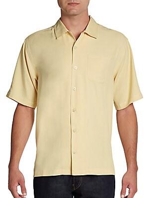 Catalina Silk Twill Shirt