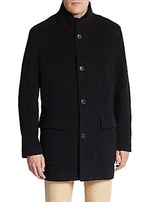 Wool/Cashmere-Blend Coat