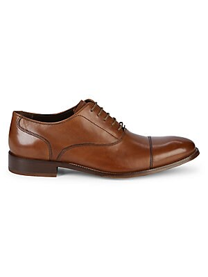 Williams II Leather Oxfords - Available in Extended Sizes