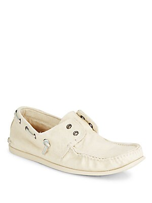 Schooner Canvas Boat Shoes