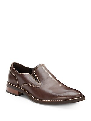 Canton Leather Slip-On Loafers