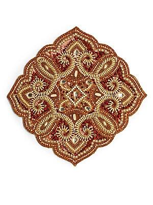 Marrakech Diamond-Shaped Beaded Placemat