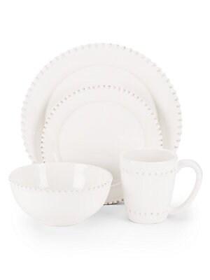 Bianca Bead Dinnerware Set