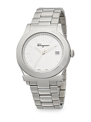 1898 Stainless Steel Bracelet Watch/White
