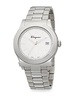 1898 Stainless Steel Bracelet Watch/White