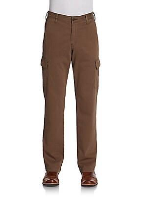 Carsen Straight-Leg Cargo Pants