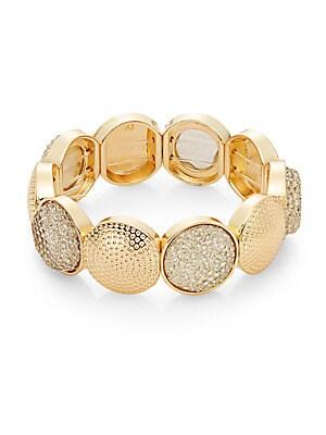 Day Glow Gleaming Stretch Bracelet