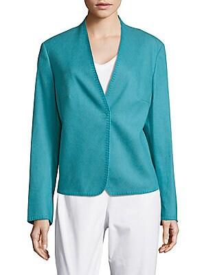 Wool & Cotton-Blend Jacket