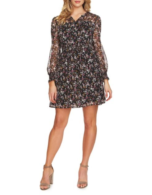 Floral Dress Abbey A Line Cece fvY6gyIb7