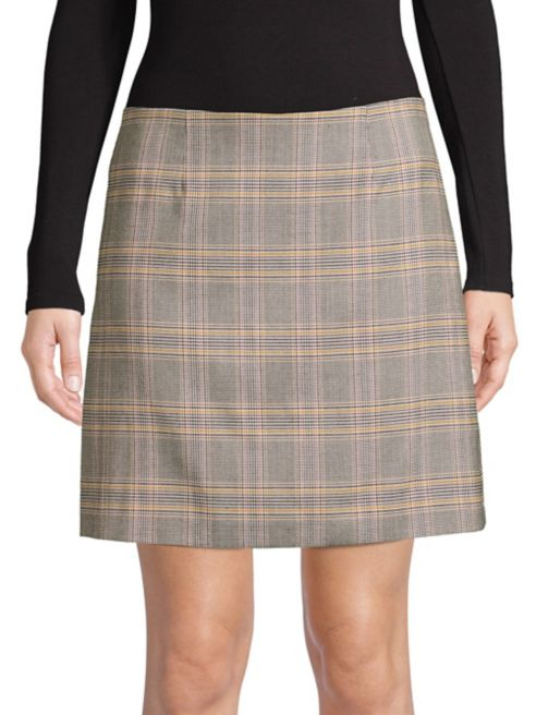 Girl Mini Plaid Meets Boy 1STATE Skirt 54RLjq3A