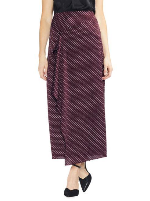 Jewel Maxi Estate Vince Asymmetric Camuto Trinket Skirt Ruffled CxBedWQro