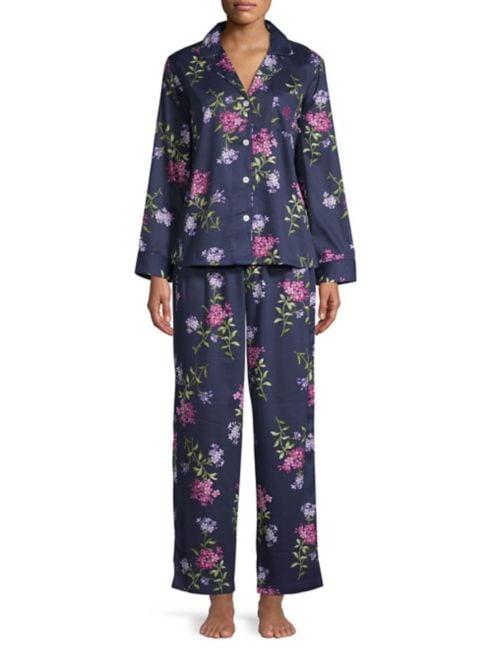 à Lauren Ralph Lauren motif Pyjama floral XZuOPiTk