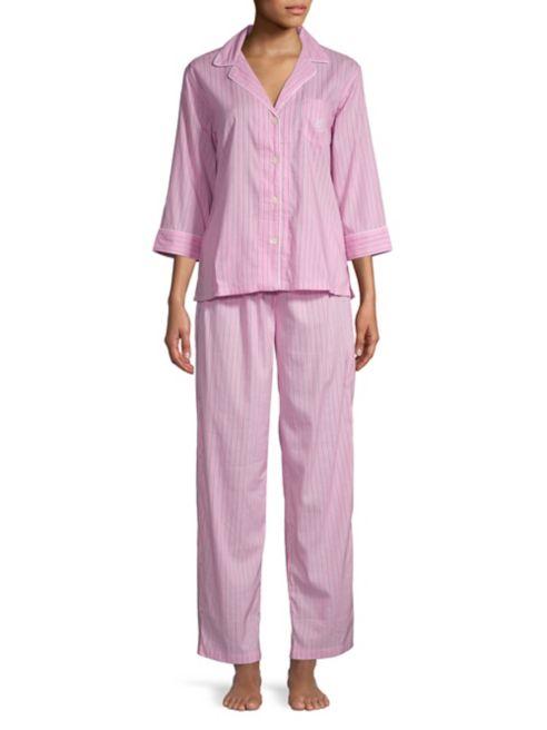 Lauren Lauren Pyjama rayé Ralph xWEQdBorCe