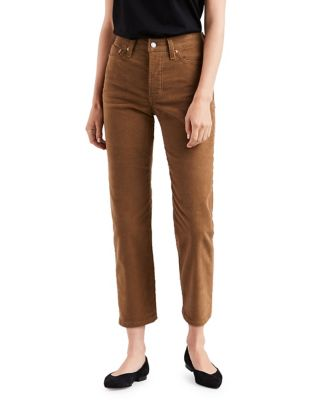 Textured Cropped Pants by Levi's