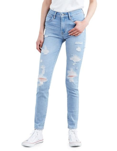 Levi's Rise Board High Jeans Skinny Drawing 721 Y6bf7gvy