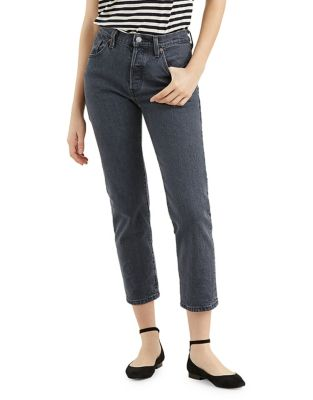 501 Cropped Denim Jeans by Levi's