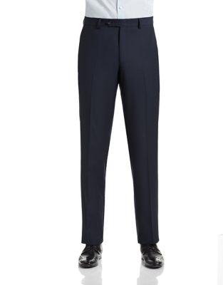 Slim Fit Navy Suit Pants by 1670
