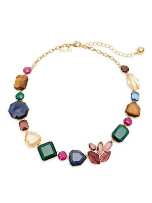 Rock It Multicolour Crystal Necklace by Kate Spade New York