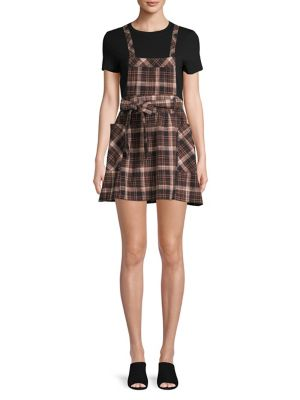 Plaid Cotton Clover Jumper by Free People