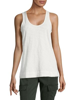 Nebulous Cotton Tank Top by Theory