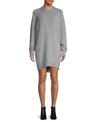 Cashmere Knit Sweater Dress by Theory