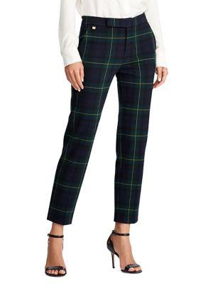 Plaid Ankle Pants by Lauren Ralph Lauren