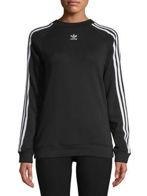 Logo Cotton Sweater by Adidas Originals