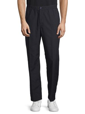 Bryan Pinstriped Pants by Stussy