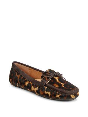 Women's Leopard Calf Hair Loafers by Lauren Ralph Lauren