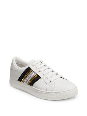 Bedazzled Stripe Empire Sneakers by Marc Jacobs