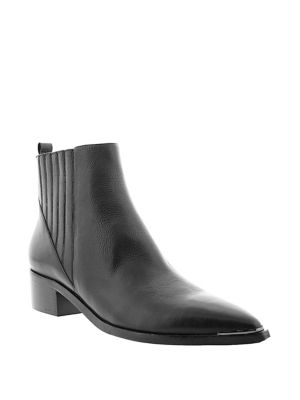 Yommi Leather Booties by Marc Fisher