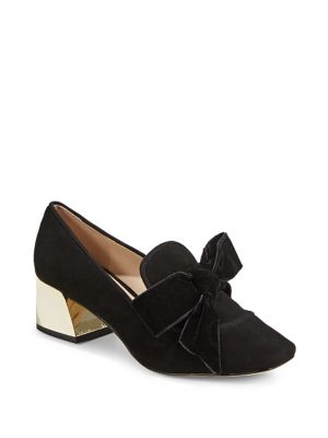 Hattie Suede Pumps by Karl Lagerfeld Paris