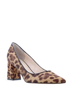 Zalaly Cow Hair Leather Pumps by Marc Fisher
