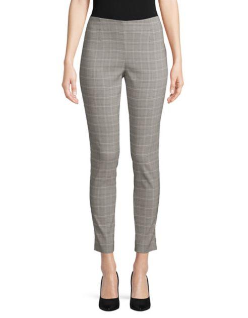 Klein extensible Pantalon à carreaux et Calvin à taille élastique K1TlFJc